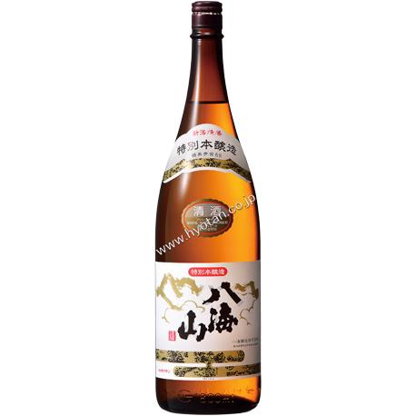 最後の一滴まで旨い特別本醸造酒