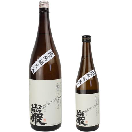 29BY 巖 「拙(せつ)」 純米吟醸 キモト瓶燗火入