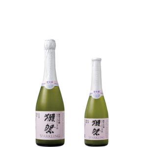 獺祭 純米大吟醸 発泡にごり酒 スパークリング45