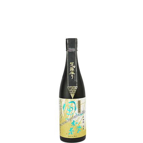 山田錦 純米の笊籬採り