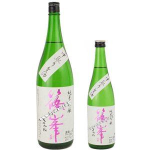 篠峯 純米吟醸 中取り生酒 五割磨き
