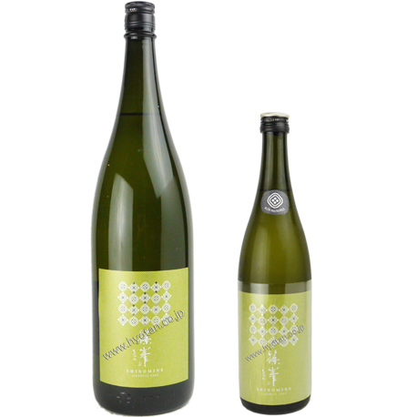 亀ノ尾を使用した純米吟醸無濾過生原酒