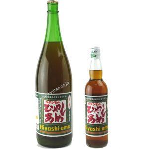 カタシモのひやしあめ1800ml瓶と550ml瓶