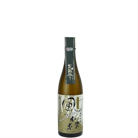山田錦 純米吟醸の笊籬採り