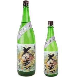 大倉 山廃特別純米(神力60%)直汲み 30BY