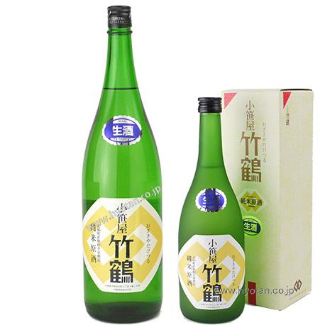 小笹屋竹鶴 30BY 大和雄町 純米生原酒