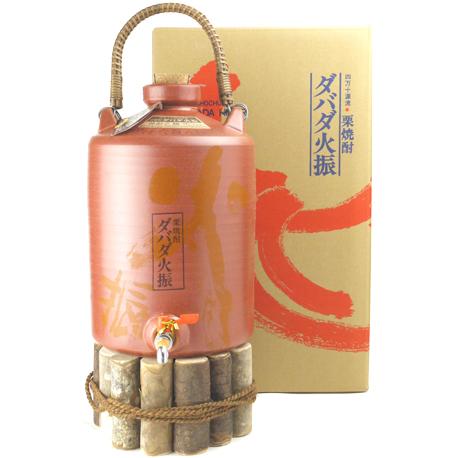 レアな栗焼酎の壺