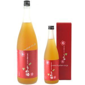 八海山の焼酎で仕込んだうめ酒(梅酒) 赤ラベル