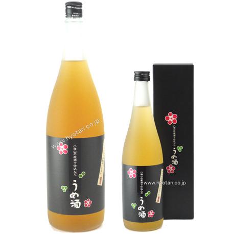 八海山の特別本醸造酒で仕込んだ梅酒