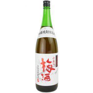 小正醸造 小正の梅酒1800ml