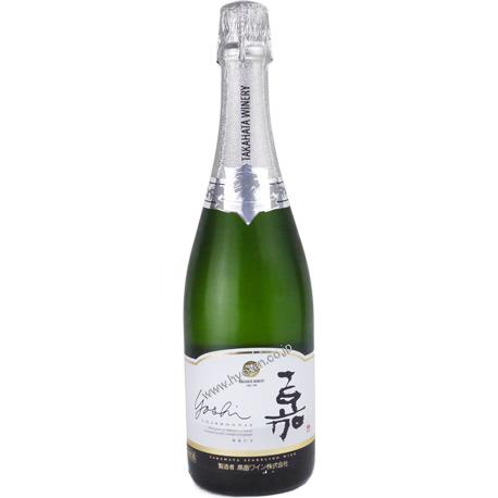 高畠 嘉(yoshi) スパークリング シャルドネ750ml