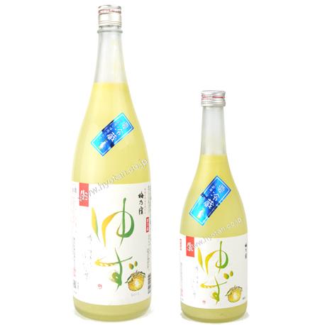 梅乃宿クールゆず酒