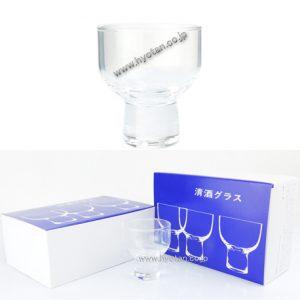 清酒グラス(大)110ml6個入り×1セット