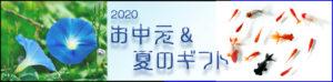 2020 お中元 サマーギフト バナー