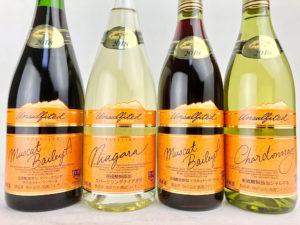 高畠ワイン 2018 亜硫酸無添加 シリーズ