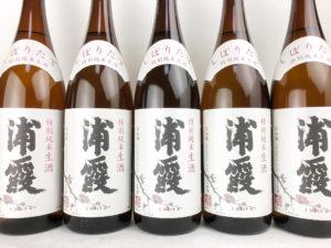 30BY 浦霞 しぼりたて特別純米生酒 バナー