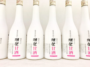 獺祭 甘酒 785g バナー