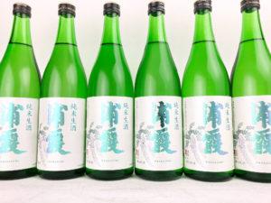 30BY 浦霞 純米生酒 バナー