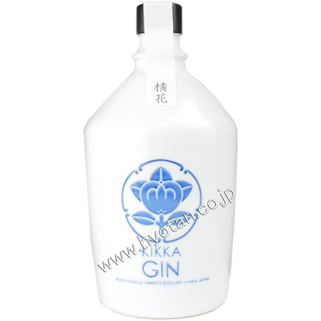 橘花 KIKKA GIN Batch 009 Glass bottle 700ml(箱なし)