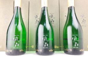 風の森「油長酒造300周年記念酒」生酒 リーフレット付き箱入り 720ml 記念ボトル