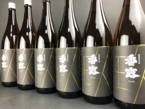 香露 特別純米 瓶貯蔵 限定酒 バナー