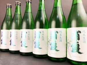 R01BY 浦霞 純米生酒 バナー