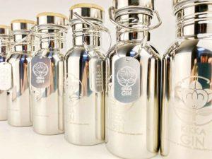 橘花 KIKKA GIN「邂逅(かいこう)」Stainless bottle 500ml バナー2