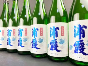 R01BY 浦霞 純米夏酒 バナー