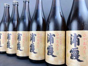 R01BY 浦霞 特別純米酒 ひやおろし バナー