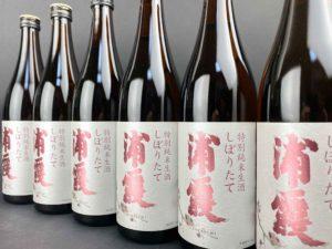 R02BY 浦霞 特別純米生酒 しぼりたて バナー