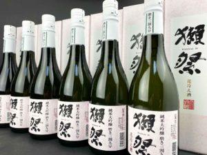 獺祭 純米大吟醸 磨き三割九分  花冷え酒 バナー